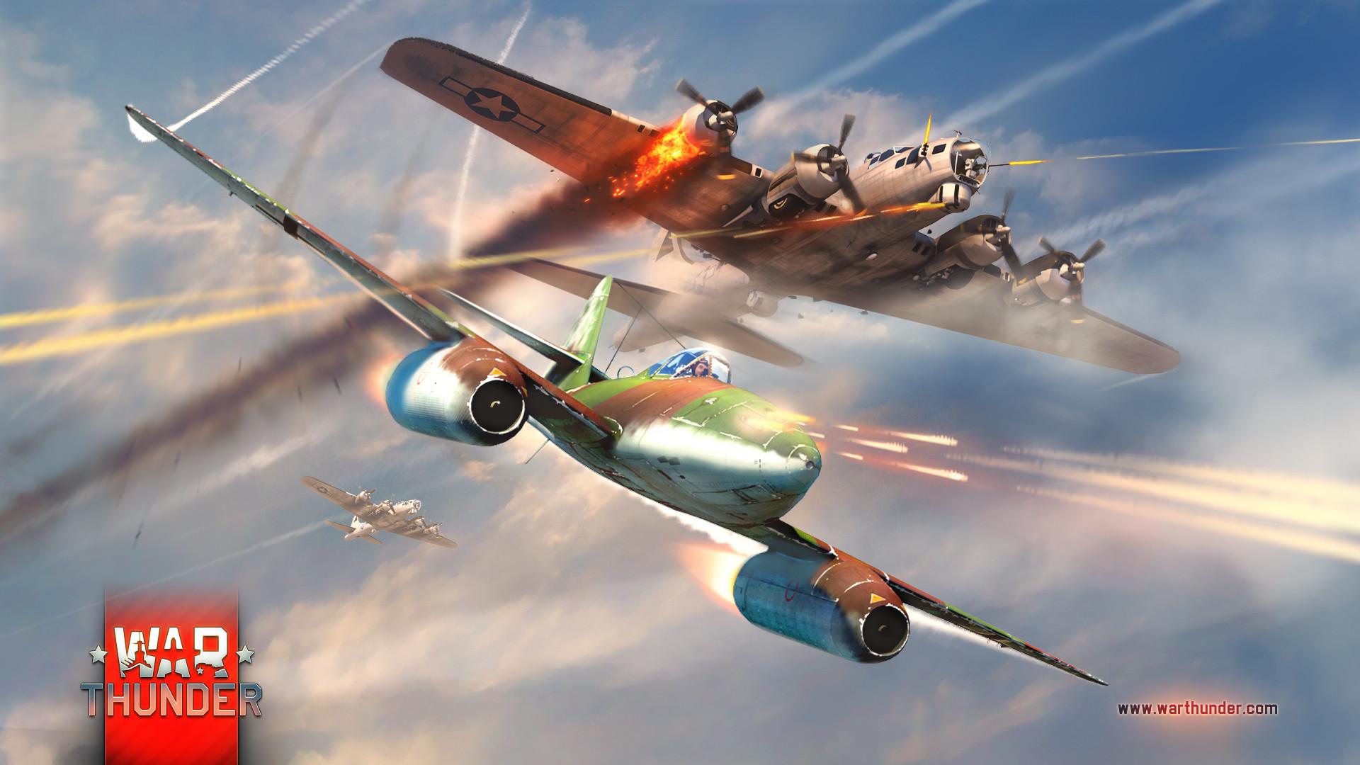 Me262 Versus B17 - Too little too late - News - War Thunder