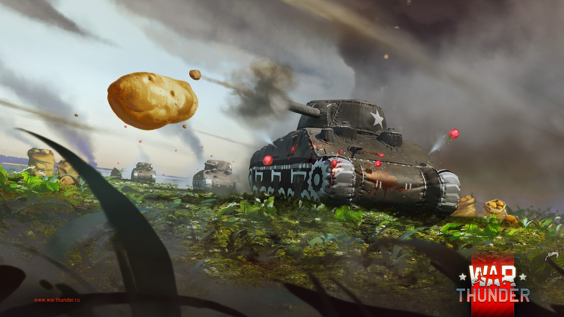 установка war thunder танки
