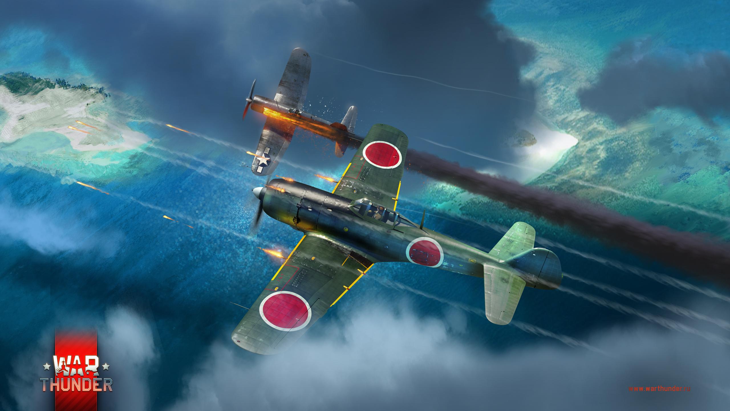 рисунок Ki-84 vs F4U